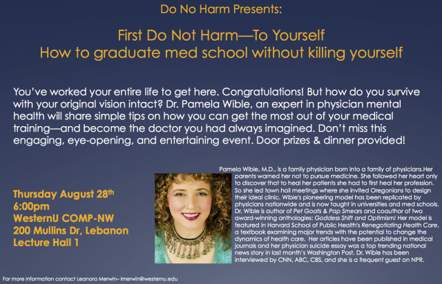 How to graduate medical school without killing yourself