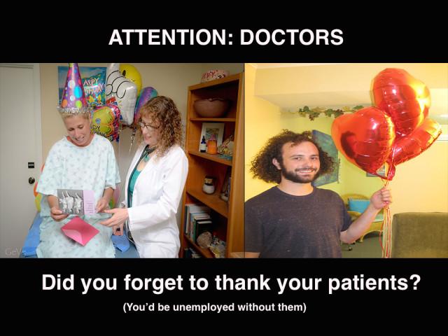 DoctorsThankPatients