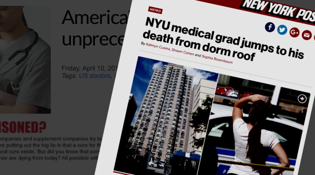 Three young doctors jump to their deaths in NYC | Pamela