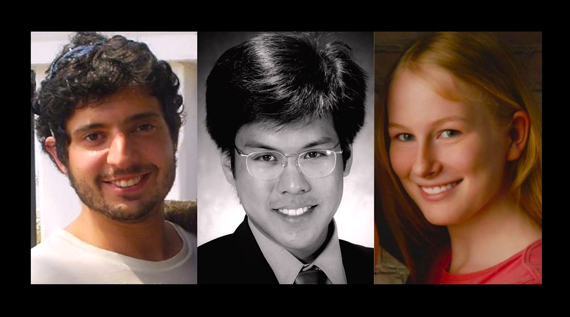 Greg Miday, Vincent Uybarreta, Kaitlyn Elkins ~ Rest in peace sweet souls. We miss you.