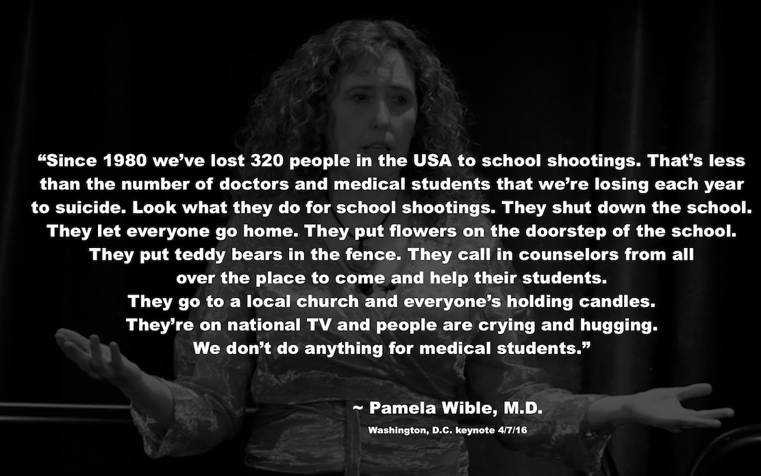 Pamela Wible School Shootings