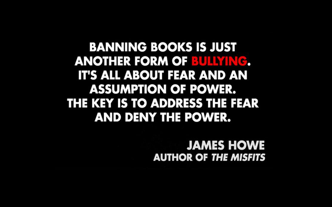 BullyingBanningBooks