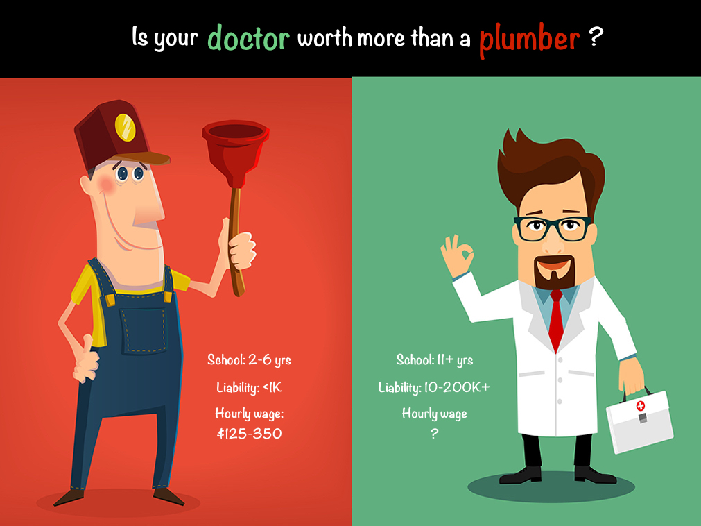 Is your doctor worth more than a plumber? | Pamela Wible MD