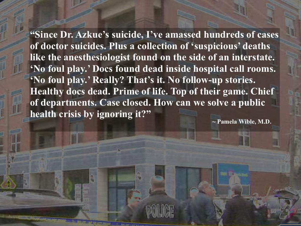 Jon Azkue Suicide Pamela Wible MD