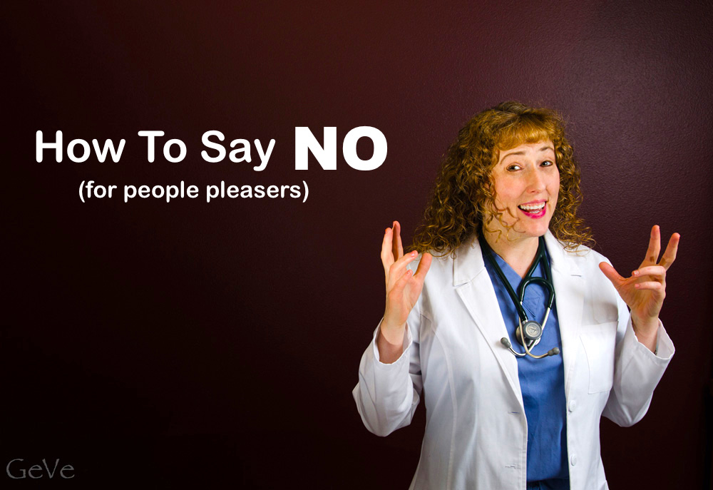 How to say NO to people pleasers