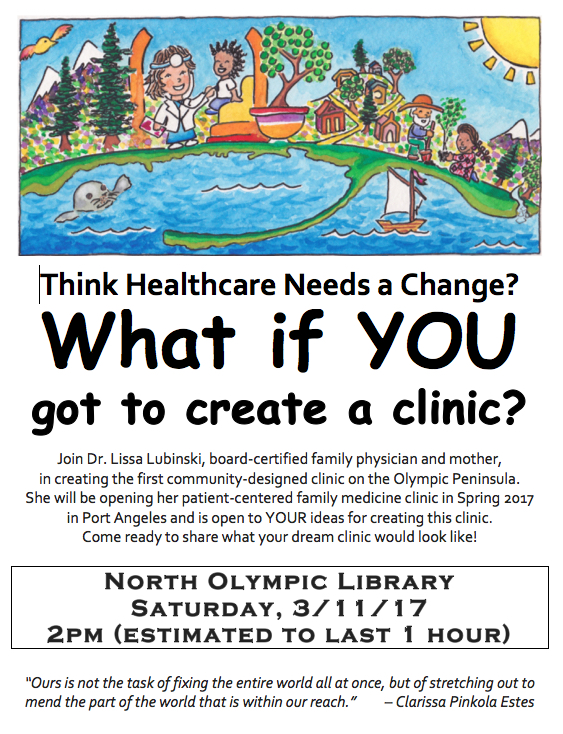Lissa Lubinski Town Hall Flyer 13.11color