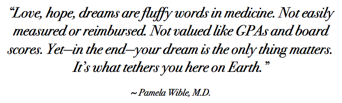 Pamela Wible GPA quote