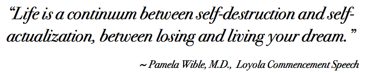 Wible-Loyola-Self-Actualization-Quote