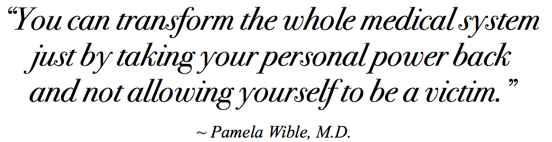 Pamela Wible Victim