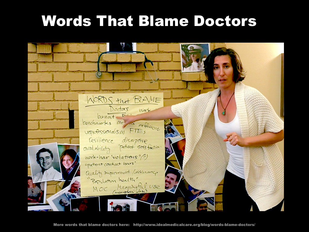 Words That Blame Doctors