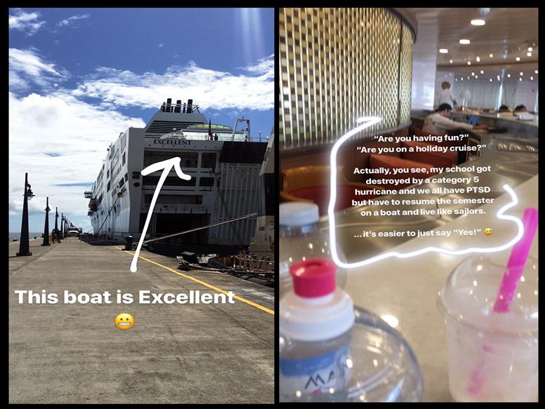 Med School on a Boat