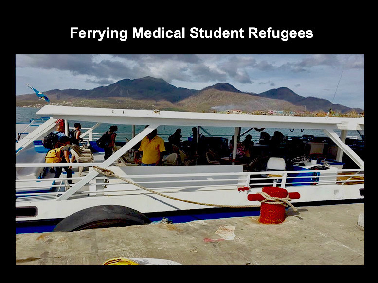 Ferry Evacuation Medical Students