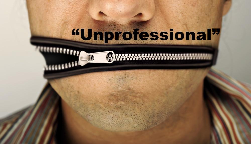 Unprofessional Doctors