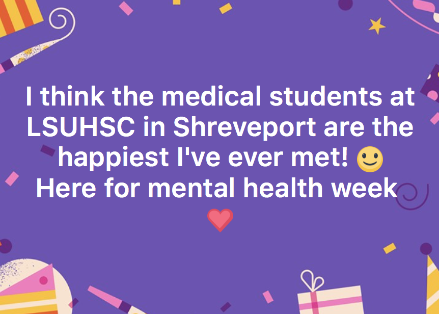 LSUHSC Happy Students