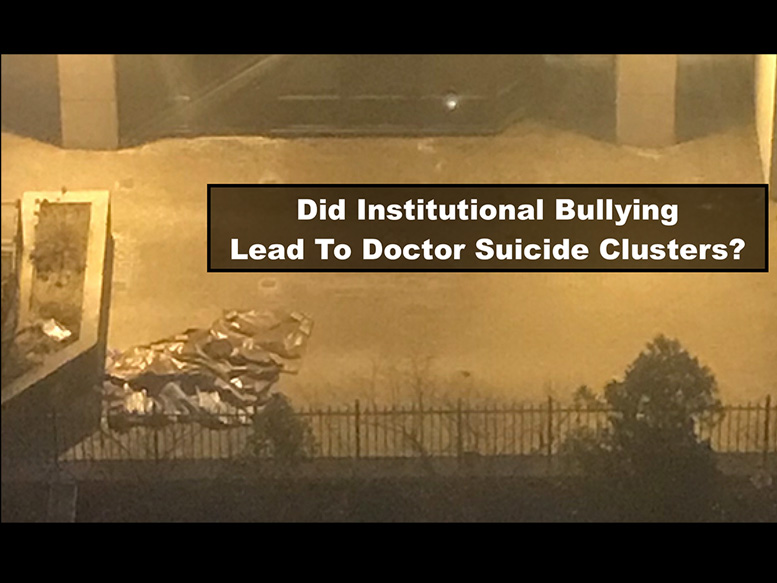 NYC doctor suicides linked to bullying? | Pamela Wible MD