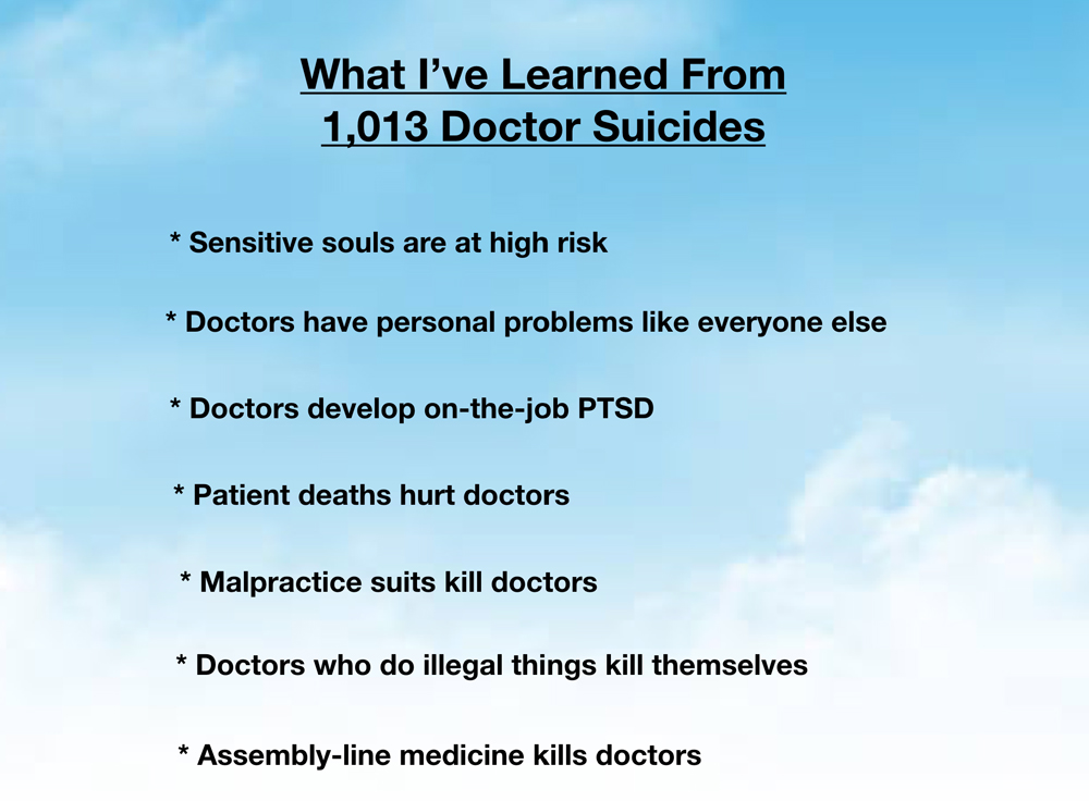33 Orthopaedic Surgeon Suicides How To Prevent 34 Pamela Wible Md