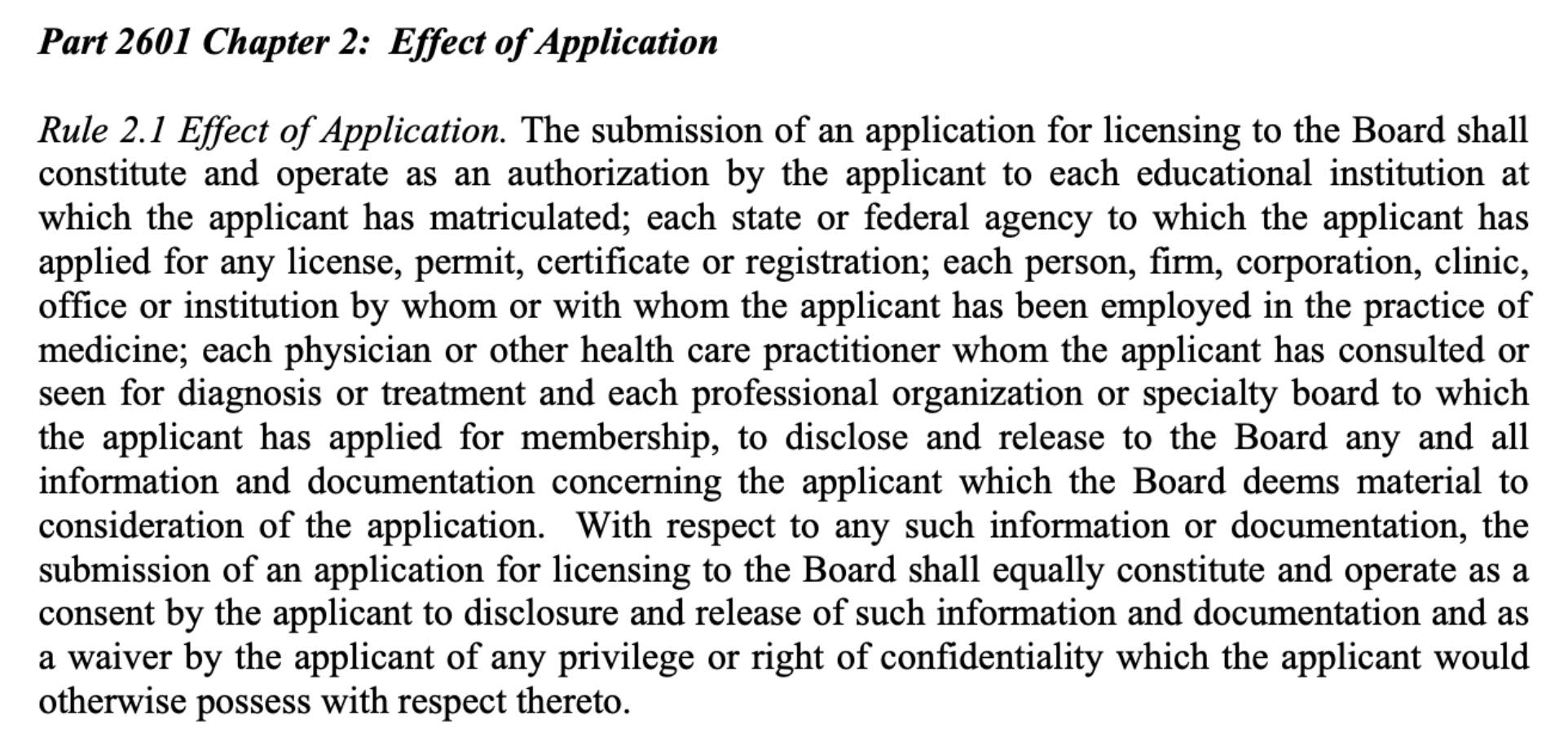 Mississippi Medical Board Licensing Application 2019